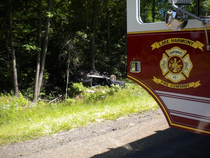 SINGLE VEHICLE CRASH TAKES ONE LIFE AND SENDS ONE TO THE HOSPITAL