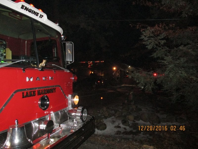 WORKING DWELLING FIRE IN HOLIDAY POCONO