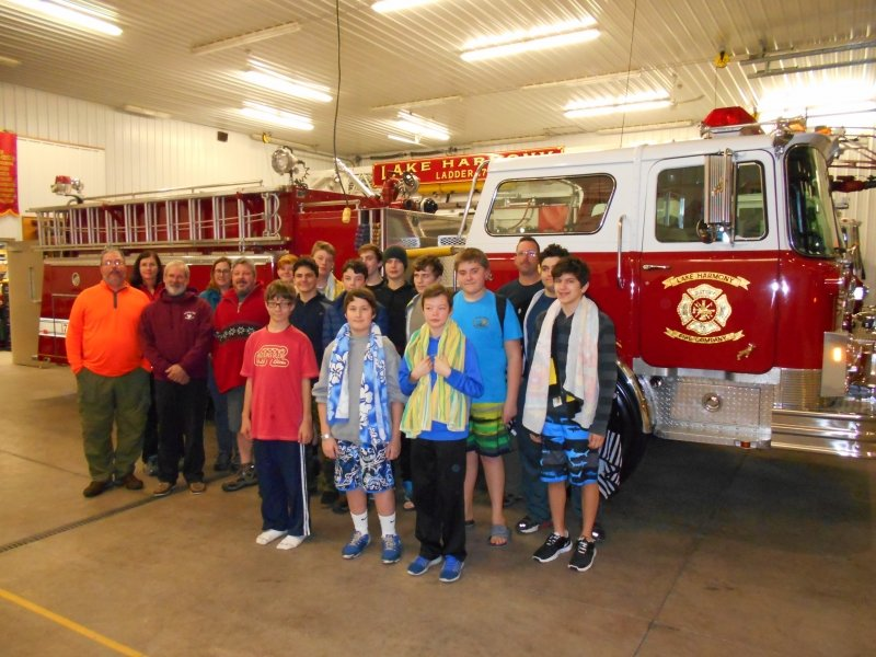 LAKE HARMONY HOSTS BOY SCOUT TROOP 48 FROM GLENSIDE, PA